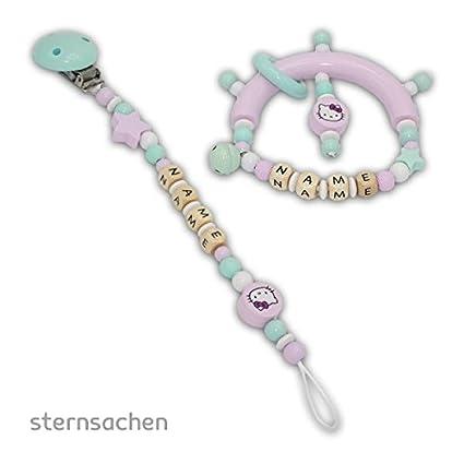 Estrella objetos de cadena para chupete + greifling Juego ...