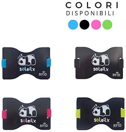 10 opinioni per Soleilx Porta Carte Credito uomo donna Panda Design unisex Blocco Protezione