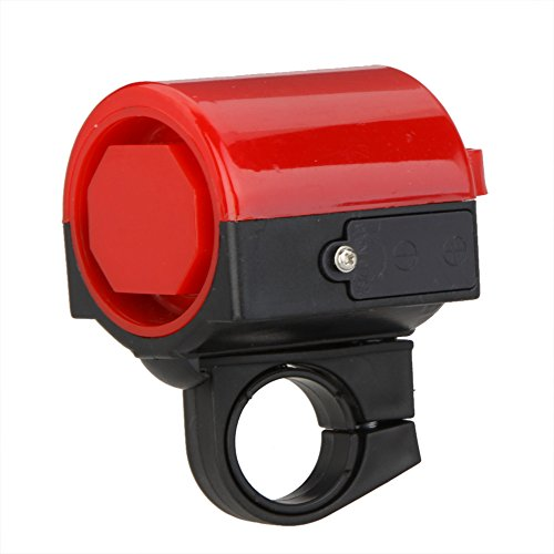 Ultra-loud Bicycle Bell MTB Road Bicycle Bike Electronic Bell Horn Cycling Hooter Siren Accessory Red (Mtb Claw)