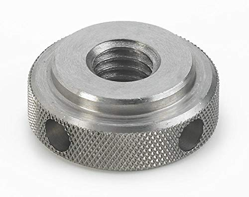 1//2-13 Thread Size Morton Machine Works KN-50SS Inch Size Morton Stainless Steel Knurled Nuts with Torque Holes