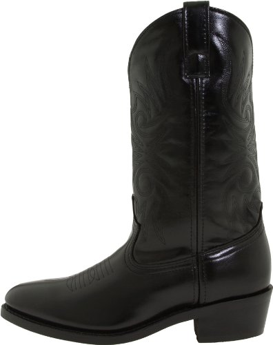 "Laredo Men's 12"" Trucker boot,Black,12 D US"