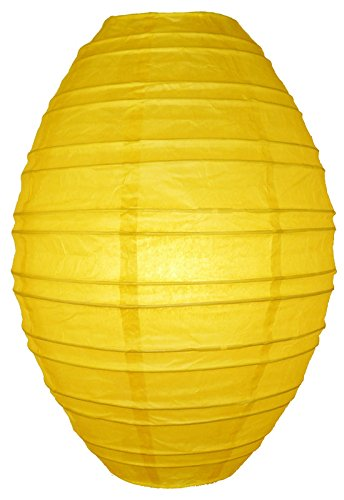 Yellow Kawaii Paper Lantern