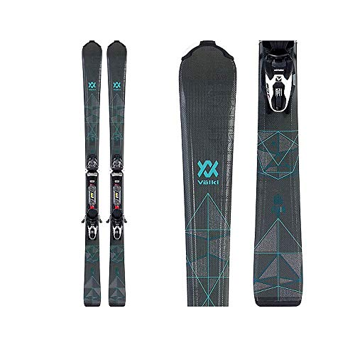 Volkl 2019 Flair 8.0 Womens Skis with FDT TP 10 Bindings - 165cm