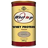 Cheap Solgar – Whey To Go  Protein Powder* Natural Vanilla Flavor 12 oz