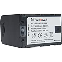 Newmowa Rechargeable SSL-JVC70 Li-ion Battery for JVC GY-HM200,JVC GY-LS300,JVC GY-HM600 and GY-HM650