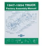 img - for 1947-54 Chevrolet Truck Assembly Manual book / textbook / text book
