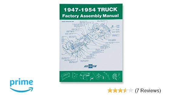 194754 Chevrolet Truck Assembly Manual Gm Gmc Chevy Rhamazon: 1952 Chevy Wiring Diagram At Gmaili.net
