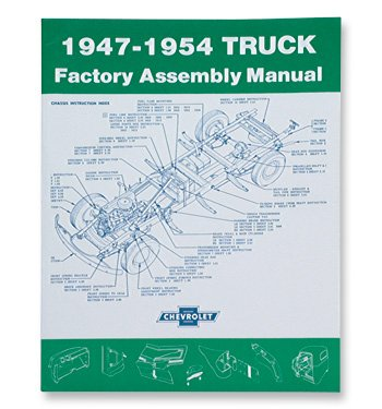 1947-54 Chevrolet Truck Assembly Manual ()