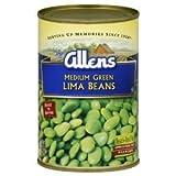 Allens Medium Green Lima Beans 15.25 Oz (Pack of 6)