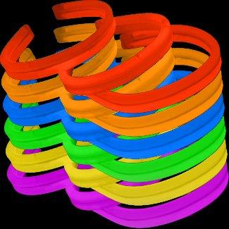 Lumistick 8 Inch Twister Glow Light Stick Assorted Bracelets (40 Bracelets) ()