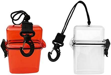 Toygogo スキューバダイビング、シュノーケリング、水泳、ボート、カヤックなどに最適な2x防水ドライボックス