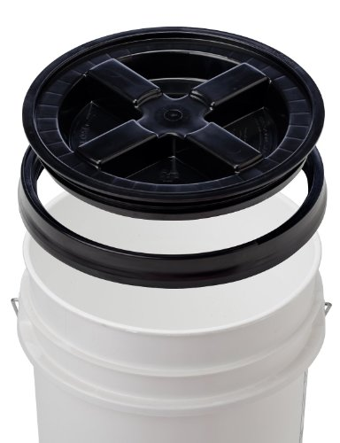 5 gallon bucket with sealed lid - 8
