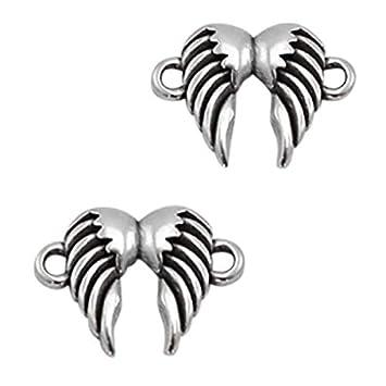 Sadingo Anhänger Engelsflügel Silber Aus Dq Metall