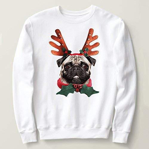 Pug Ugly Christmas sweater, Ugly Christmas tshirt or sweatshirt from Small up to 5XL