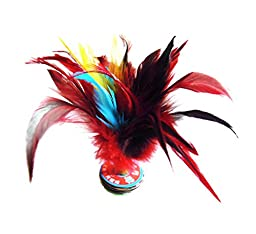 5 Pcs Professional Colored Kick Shuttlecock Chinese Jianzi Sport