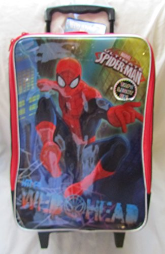Marvel Ultimate Spider-man Web-head Tote Case with Wheels