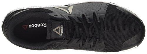 Reebok Bd4917, Zapatillas de Deporte para Hombre Negro (Blk /             Wht /             Pewter /             Grey)