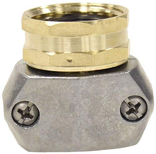 Gilmour 312GARP Brass & Zinc Female Thread Garden Hose Repair   Fits 5/8 and 3/4 inch Hoses - 3 - Brass Gilmour Sprinkler