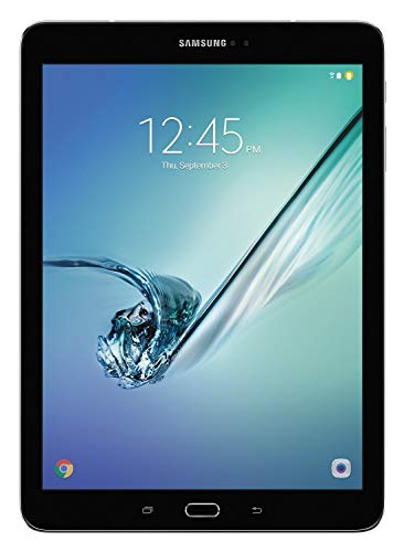 Samsung Galaxy Tab S2 T813 9.7in 32GB Wi-Fi Black With Pouch (Renewed)