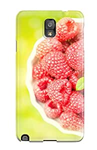 Best Ideal Case Cover For Galaxy Note 3(raspberries), Protective Stylish Case