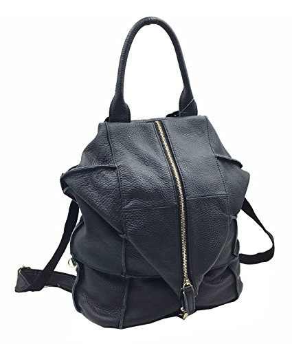Ghlee - Bolso mochila  de Piel Lisa para mujer Modus 3