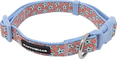 Nauticollar Starfish Ribbon Collar (Medium)