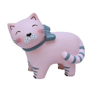 Mini Nachtlicht Lampe Katze rosa für Kinderzimmer – House Of ...