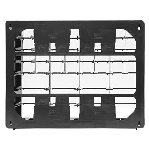 Akro-Mils 10144REDBLK 44-Drawer Hardware & Craft Plastic Cabinet, Red & Black,