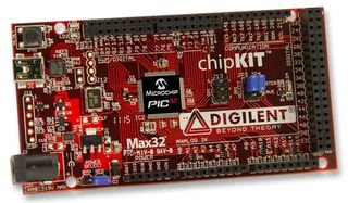 DIGILENT CHIPKIT MAX32 CHIPKIT, MAX32, PIC32MX795F512, DEVELOPMENT BOARD