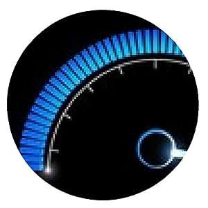 alfombrilla de ratón medidor de rendimiento de velocidad de presión y temperatura - ronda - 20cm