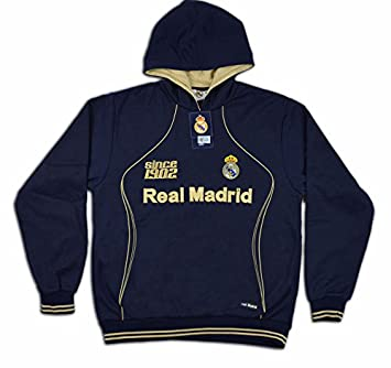 Sudadera azul del real Madrid Since 1902 Talla-L  Amazon.es  Deportes y aire  libre 85908a5886692