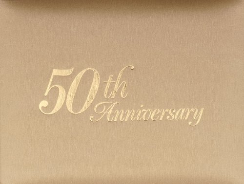 50th Wedding Anniversary Guest Book - 50th Anniversary Guest Registry Book