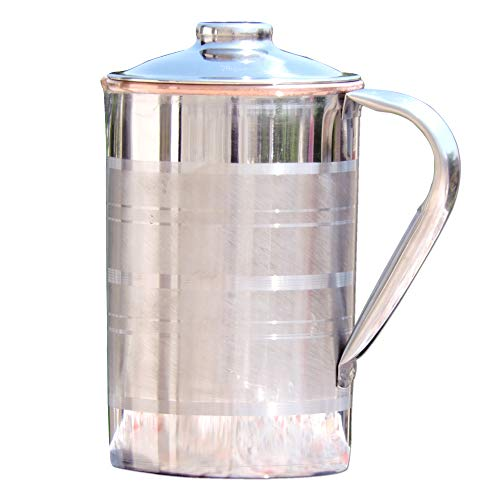stainless pitcher lid - 7