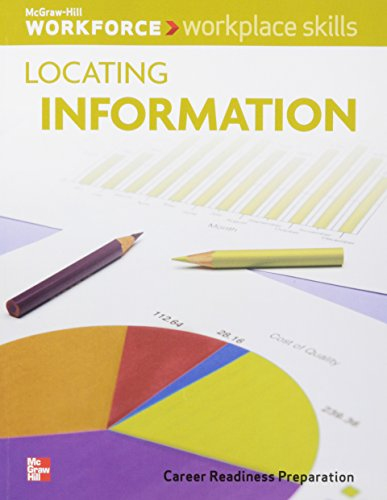 Workplace Skills: Locating Information, Student Workbook (WORKFORCE)