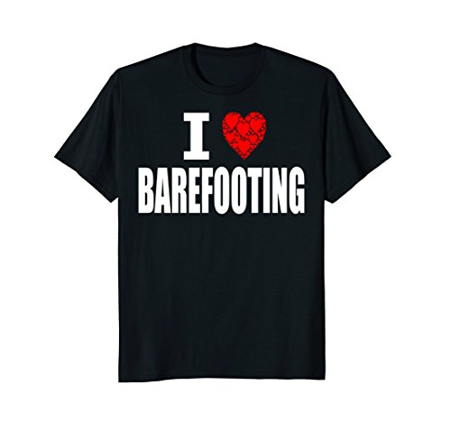 I Love Barefooting T-shirt Water Skiing Barefoot Barefoot Water Skiing