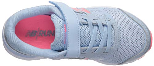 New Balance Girls' 680v5 Hook and Loop Running Shoe, air/Guava, 2 XW US Infant by New Balance (Image #8)