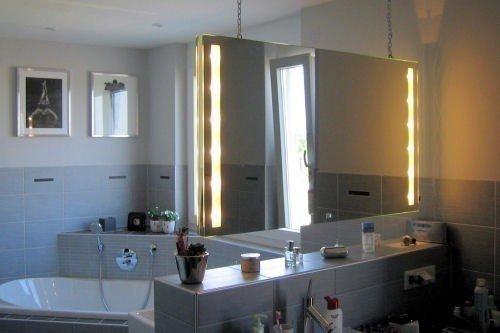Spiegel Raumteiler spiegel raumteiler cleo stare illuminare s 200x100cm amazon de