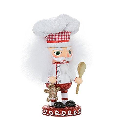 Kurt Adler 8-Inch Hollywood Gingerbread Chef - Nutcracker Chef