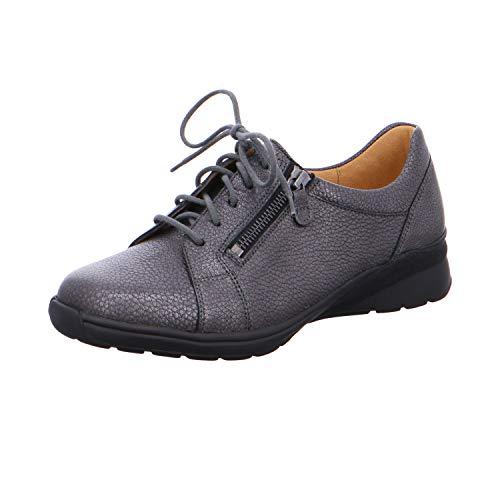 Femme de à Ganter Ville Chaussures pour Anthracite Lacets xU45wY5q