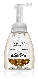 Deep Steep Foaming Hand Wash, Brown Sugar Vanilla, 8 Ounce