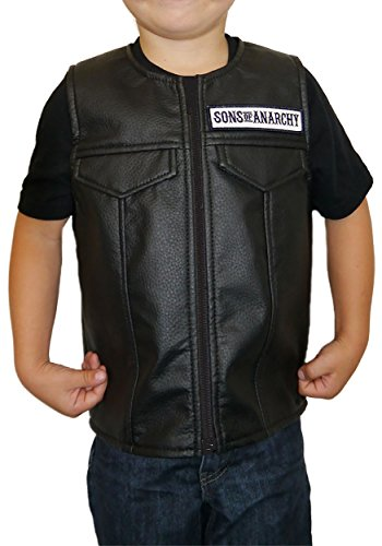 Sons Of Anarchy Halloween Costume (Child Sons of Anarchy Costume Vest Size 10)