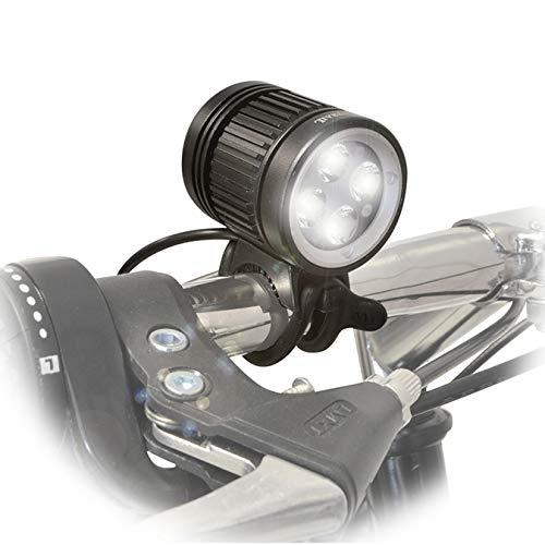 Rechargeable 1600 Lumen Mountain Bike Headlight w Helmet Strap Powerful Waterproof LED Offroad Road Cycling Bicycle Light