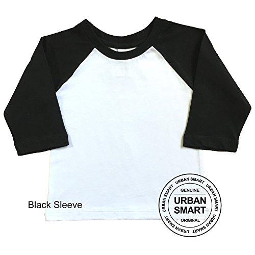 0633fca4f2d Urban Smart Toddler Raglan - Boy   Girl Baseball Shirt - Kids Baseball Shirt  - Baby. Tap to expand