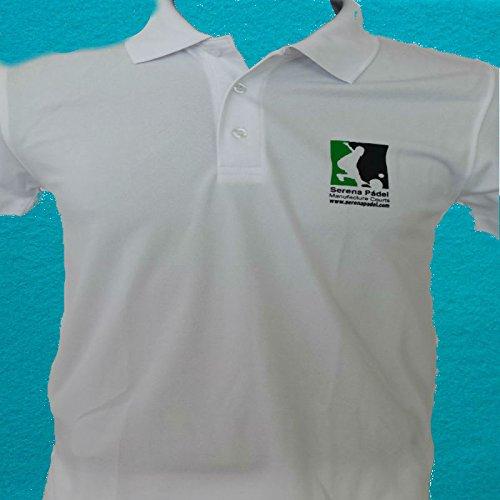 Camiseta entrenamiento padel (Blanco, S): Amazon.es ...