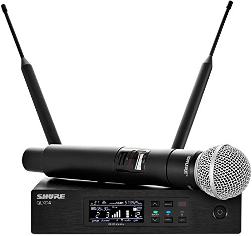 ndheld Wireless System with SM58 Vocal Microphone, G50 ()