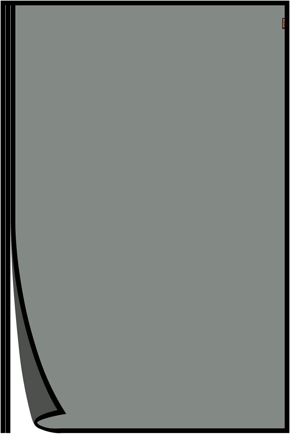 MAGZO Magnetic Door Screen Fits Door Size 38 x 82 Inches(Black),Upgraded Fiberglass Side Opening Mesh Curtain Door Screen, Broader View, Fits Deck Porch Balcony Doors