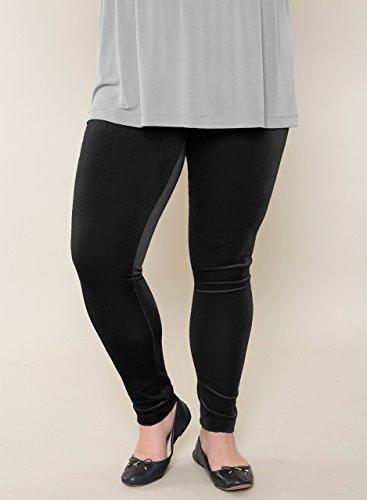 Customizable Velvet Leggings Misses & Plus Sizes 2-28 Petite Regular Tall by Jessica Gavin