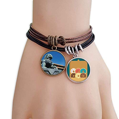 Lion Sky The Imperial Palace China Bracelet Rope Doughnut Wristband
