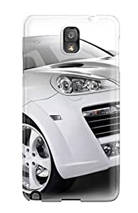 Cute Tpu Michael Volpe Car White Case Cover For Galaxy Note 3