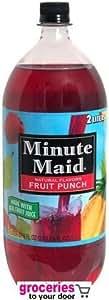 Minute Maid Fruit Punch, 2-Liter Bottle (Pack of 6)
